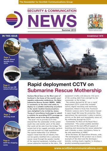 download the Summer 10 Newsletter - Scottish Communications