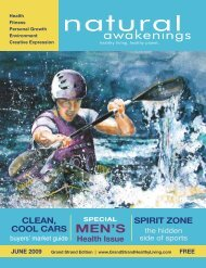 June 2009: Men's Health - Grand Strand Natural Awakenings