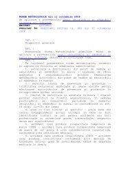 NORME METODOLOGICE de aplicare a prevederilor ... - ITM Sibiu