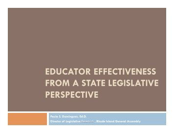 Educator Effectiveness from a State Legislative Perspective[1].pptx ...