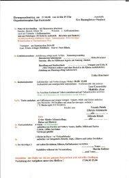 Hilfs-Checkliste zur Bewirtung des ... - Chorverband Otto Elben