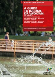 PPP A Guide to Income Drawdown - Legal & General