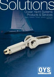 Ocean Yacht Systems Products & Services