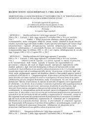 LEGGE REGIONALE N. 17 DEL 16-04-1998 ... - Protezione Civile