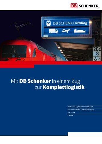 SCHENKERrailog - Deutsche Bahn  AG