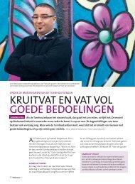 KRUITVAT EN VAT VOL GOEDE BEDOELINGEN - Weliswaar