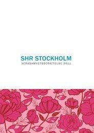 SHR StockHolm - Visita