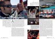 Let op Lamborghini! - Corsa Media