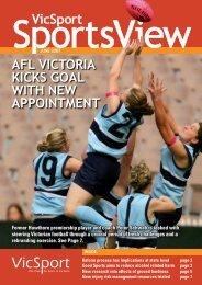 AFL Victoria initiatives build the game at community level - VicSport