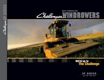 windrowers sp series - Challenger