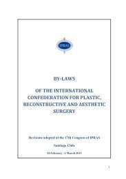by-laws of the international confederation for plastic ... - IPRAS