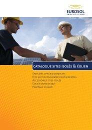 catalogue sites isolés & éolien - Eurosol GmbH