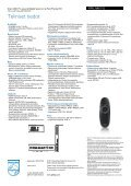 47PFL7696T/12 Philips Smart LED-TV, jossa Ambilight Spectra 2 ja ... - Page 3