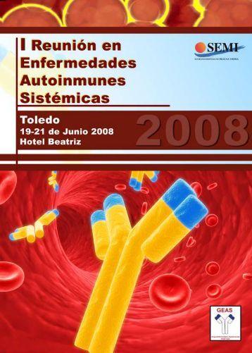 I Reunión de enfermedades autoinmunes sistémicas. - Sociedad ...