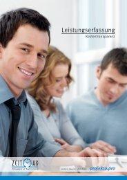 Leistungserfassung - Zeit AG