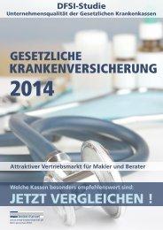DFSI-Studie 2014: GESETZLICHE KRANKENVERSICHERUNG