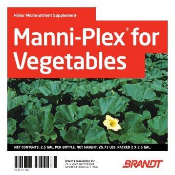 Manni-Plex for Vegetables - Brandt