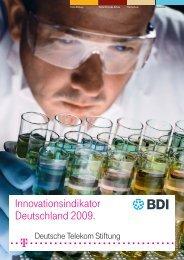Innovationsindikator Deutschland 2009 - Über das Europäische ...