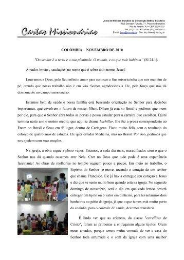 Cartas Missionárias - JMM