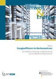 Energieeffizienz im Rechenzentrum - Bitkom