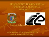 aplicaciones térmicas de la energía solar de baja temperatura - C.I.E.