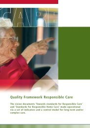 Quality Framework Responsible Care - BioMed Central