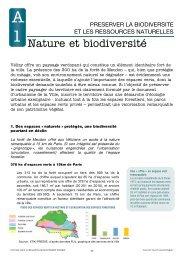 Nature et biodiversité - Vélizy-Villacoublay