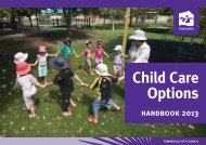 Child Care Options - Townsville City Council - Queensland ...