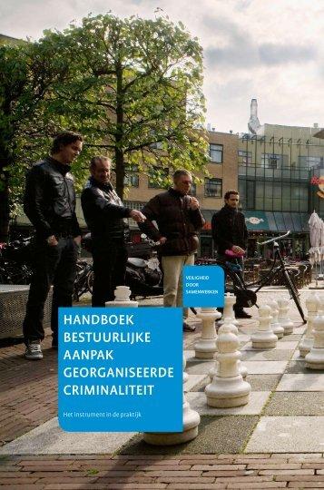 HANDBOEK BESTUURLIjKE AANPAK - Centrum voor ...