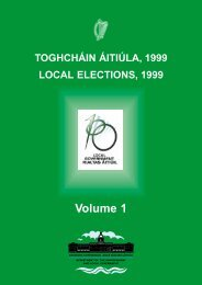 Volume 1 - Department of Environment and Local Government