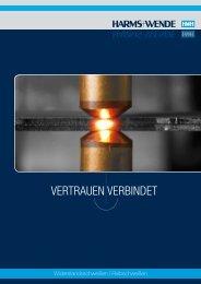 VERTRAUEN VERBINDET - Harms & Wende