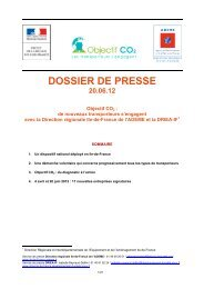 CharteCO2 les transporteurs s'engagent - Ademe Ile de France