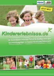 Imagebroschüre (PDF) - Kindererlebnisse.de