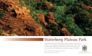 Waterberg Plateau Park - Ministry of Environment and Tourism