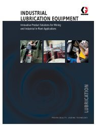 INDUSTRIAL LUBRICATION EQUIPMENT - Speedo Marine Pte Ltd