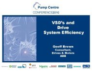 VSD's and Drive System Efficiency - ESR Technology
