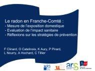 Le radon en Franche-Comté - CoTITA
