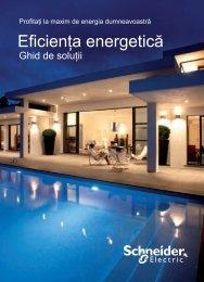 Eficienţa energetică - Schneider Electric