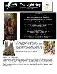 Newsletter June 23, 2014