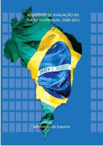 Caderno Setorial - Ministério do Esporte