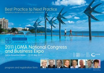 2011 LGMA National Congress and Business Expo - Local ...