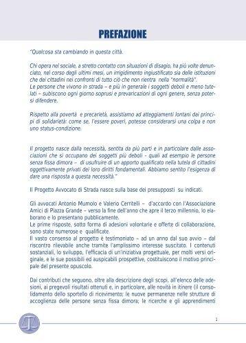 """""""Avvocato di strada"""" a Bologna (pdf) - Ristretti.it"""