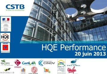 Présentation premiers résultats Test HQE Performance 2012 (PDF ...