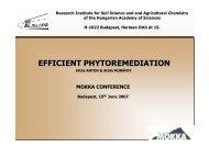 EFFICIENT PHYTOREMEDIATION - MOKKKA.hu