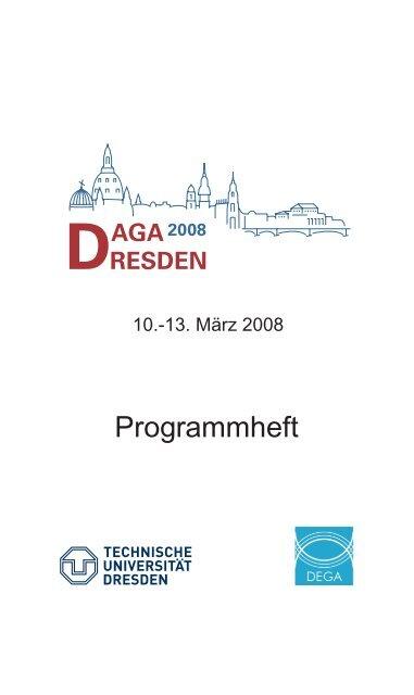 Programmheft - Deutsche Gesellschaft für Akustik eV