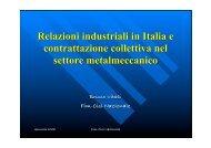 Relazioni Industriali in Italia.pdf - Facolta' di Scienze Politiche