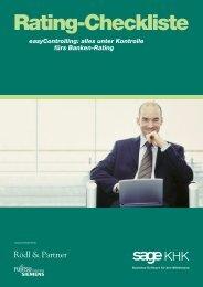 Rating-Checkliste als PDF-Download - Technoconcept