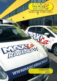 CATALOGO 2010 - Maxi Car Racing