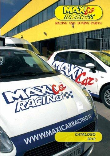 CATALOGO 2010 - Maxi Car Racing