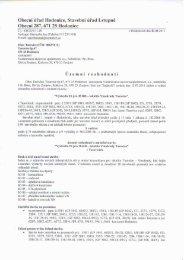 Územní rozhodnutí - Obec Hodonice